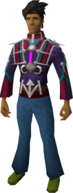 Azzanadra's Gift equipped (male)