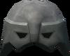 Warrior helm (steel) detail