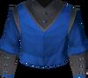 Academy magic robe top detail