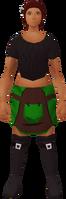 Retro smith's short apron