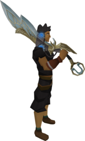 Augmented Armadyl godsword equipped