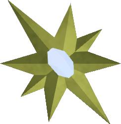 Bonus XP star (small) detail