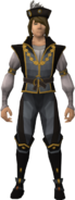 Noble outfit equipped (male)