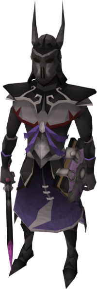 Virtus armour equipped