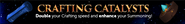 Crafting catalysts lobby banner
