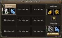 Clan relationships interface old