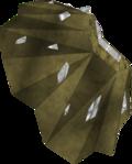 Ancient weapon piece (a) detail