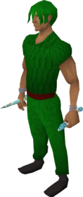 Crystal chime (Prifddinas) equipped