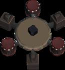Royale cannon base detail