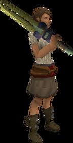 Zephyrium 2h sword equipped