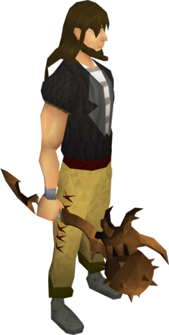 File:Corrupt dragon mace equipped.png