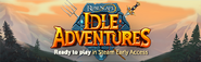Idle Adventures Steam Early Access lobby banner