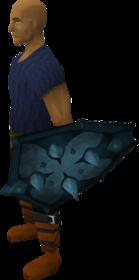 Rune berserker shield equipped