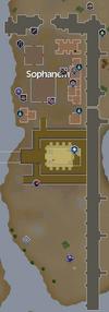 Sophanem map