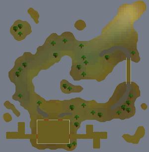 Isla Anglerine map