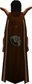 Retro hooded dungeoneering cape (t) equipped