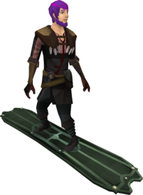 Snowboard (tier 4) equipped