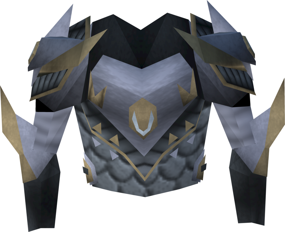 Lucky Armadyl chestplate detail