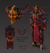 Captain Dulcin's armour concept artwork