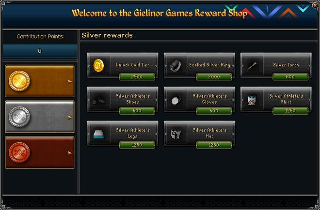 Gielinor Games Reward Shop (silver) interface