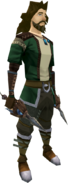 Manticore daggers equipped