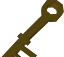 Wrought iron key