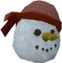 Pirate snowman chathead