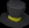 Snowman top hat detail