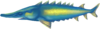 Leaping sturgeon (Aquarium)