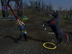 Killing black unicorns