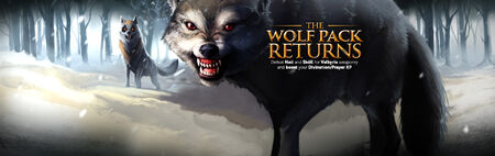 The Wolf Pack Returns banner