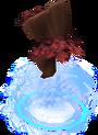 Divine maple tree detail