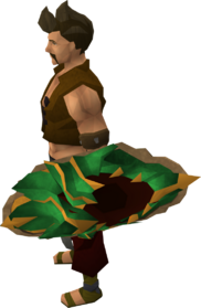 Dragonfire shield (ranged) (uncharged) equipped
