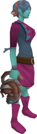 Mechanised chinchompa equipped