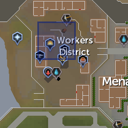 Worker district musician location