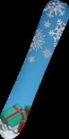Snowboard (2016) bottom detail