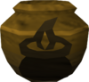 Fragile cooking urn (unf) detail