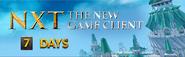 NXT client countdown lobby banner