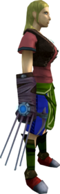 Augmented ripper claw equipped