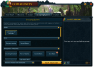 Community (Grouping System) interface