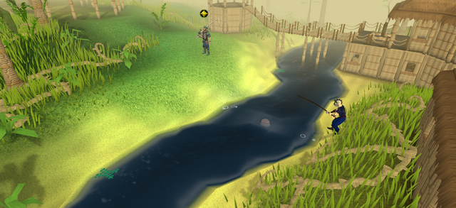 File:A player fishing in Shilo Village.png