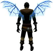 Ethereal wings (law) equipped