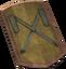 Profound decorative shield detail