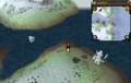 Scan clue Fremennik Isles east of mining site on southeastern snowy island.png