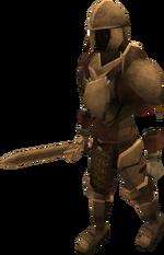 Animated Bronze Armour