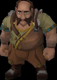 Dwarven Boatman (ore hauler)