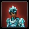 Iceheart armour icon (female)