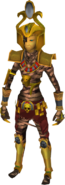 Ancient mummy outfit equipped (male)