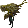 Gold zodiac costume (head) equipped.png