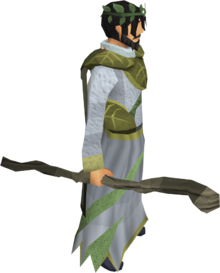 Third-age druidic staff equipped